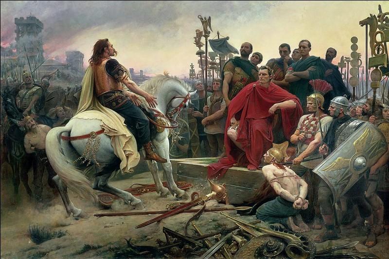 En -509, les Romains fondent la première République de l'histoire. Mais elle est, en fait, dirigée par une minorité que l'on appelle les patriciens. Les Romains forment alors une redoutable armée de légionnaires qui conquiert une grande partie de l'Europe. En quelle année les Romains assiègent-ils les Gaulois à Alésia ?