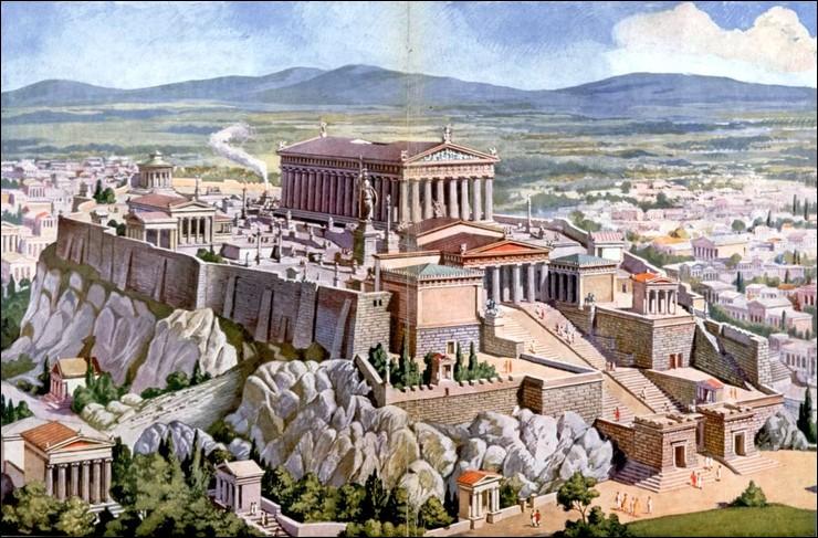Victorieuse des Perses, Athènes s'impose face autres cités, comme Sparte. L'actuelle capitale de la Grèce atteint son apogée en -479, en inventant la démocratie. Mais c'est aussi grâce à un stratège et homme politique grec de renommée. Quel est son nom ?