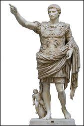 """Après sa victoire en Gaule, Jules César meurt en -44. Alors, un jeune Octave concentre tous les pouvoirs entre ses mains et se proclame """"Auguste"""" en -27. Devenu empereur, il commande l'armée, rend la justice et promulgue les lois, mais modernise aussi Rome. En créant l'immense Empire romain, il réalise le rêve de Jules César. Qui est celui-ci par rapport à Auguste (Octave) ?"""