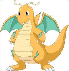 Quel est le nom de ce Pokémon de type dragon ?
