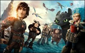 """En quelle année est sortie le film d'animation """"Dragons"""" ?"""