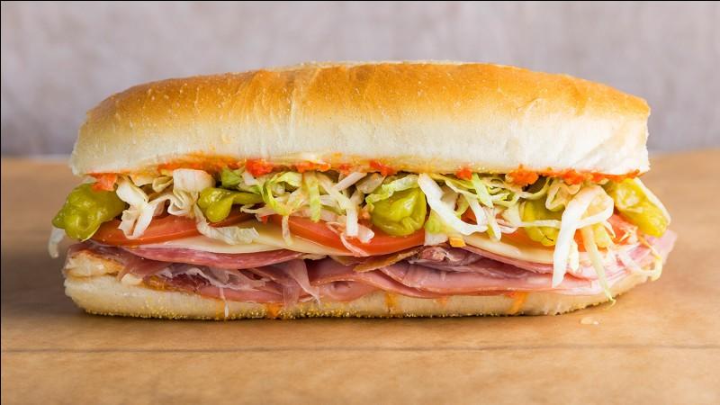 Le sandwich basique est...