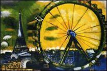 "Qui a peint ""La grande roue de Paris"" ?"