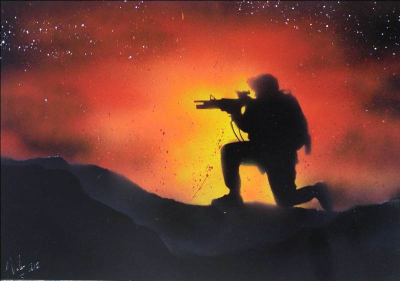 On dit qu'on me porte quand on doit supporter quelque chose. De guerre, je récompense les soldats. On me fait quand on renonce. Je suis...
