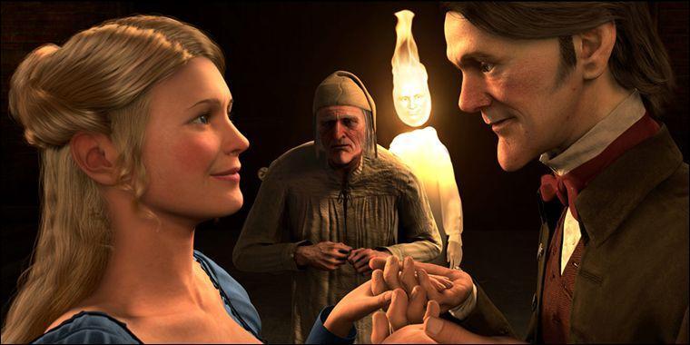 En 2009, est sorti le drôle de Noël de Mr Scrooge, c'est un film de ...