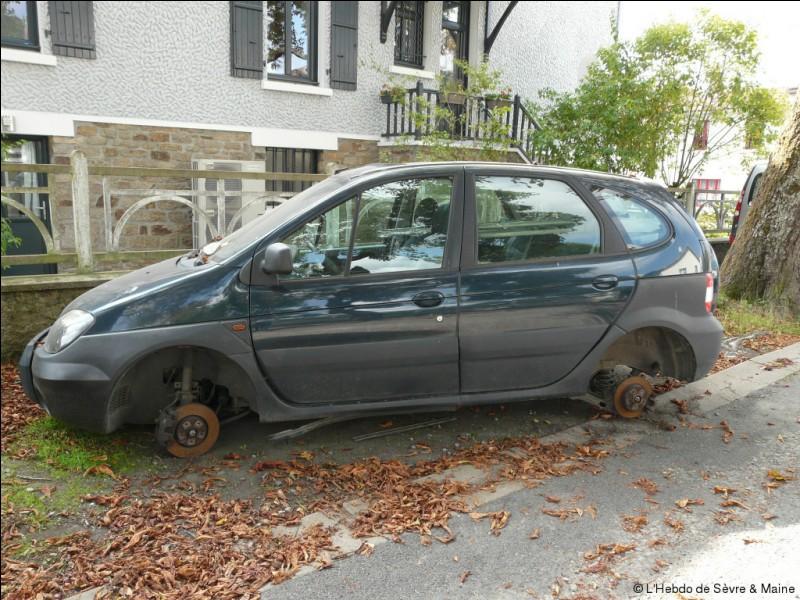 Comment sont les roues des voitures ?