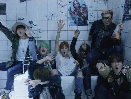 Les clips vidéo du groupe BTS