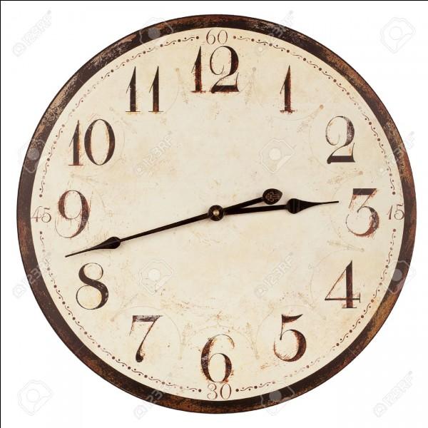 À quelle heure voudrais-tu finir ?