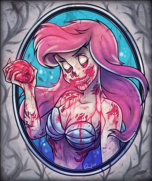 Je vois qu'Ariel n'a pas perdu le goût du sang ! Qu'avait-elle perdu en échange d'une paire de jambes ?