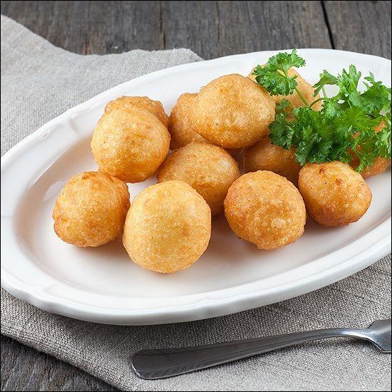 Que sont ces pommes de terre façonnées en forme de boules ?