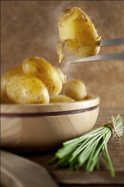 Qu'est-ce qu'une pomme de terre en robe des champs ?
