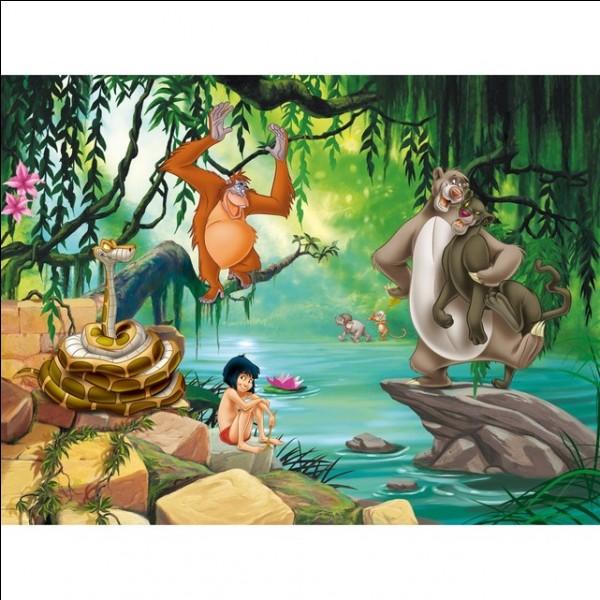 """C'est Kaa dans """"Le livre de la jungle :"""