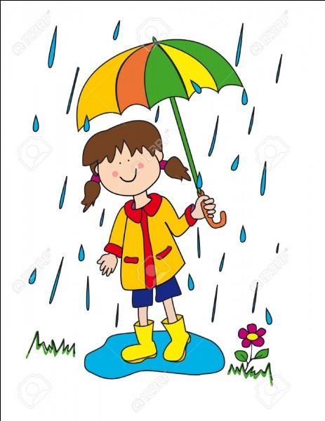 Il pleut il mouille, c'est sa fête !