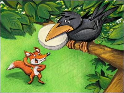 Et enfin qui voisine avec le renard dans celle-ci ?