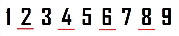 Ton chiffre est-il pair ?