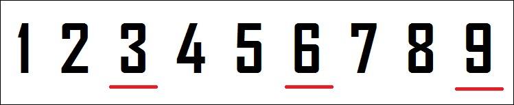 Ton chiffre est-il divisible par trois ?