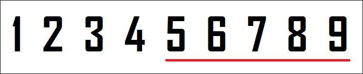 Ton chiffre est-il strictement supérieur à 4 ?