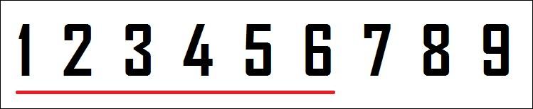 Ton chiffre est-il strictement inférieur à 7 ?