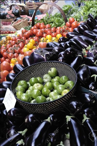 Quel plat méditerranéen est composé exclusivement de tomates et d'aubergines ?