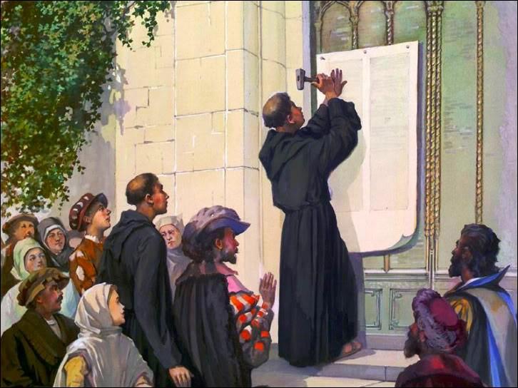 Le moine Martin Luther est choqué par les dignitaires de l'Église qui ne respectent pas selon lui, les messages de pauvreté de Jésus. En 1517, il accroche partout ses 95 thèses, un texte qui dénonce les abus de l'Église. C'est l'acte de naissance du protestantisme, qui va diviser la religion chrétienne. De quelle origine était le moine Luther ?