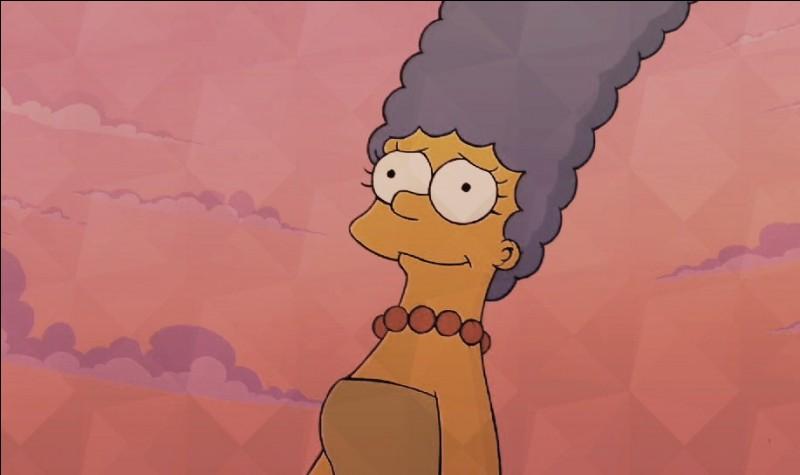 Tu l'as reconnue, c'est Marge Simpson ! Qui est-elle pour Bart ?