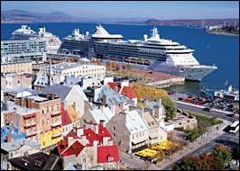 Le fleuve St-Laurent figure davantage dans la programmation des croisiéristes : entre 2000 et 2017, le nombre de visiteurs à ce port, face à l'île d'Orléans, est passé de 56 000 à plus de 200 000. Au total, il a accueilli 132 escales de navires de lignes.On vient pour la ville d'histoire au décor romantique et sur le fleuve, on ira observer l'automne au fjord du Saguenay et y voir les baleines.