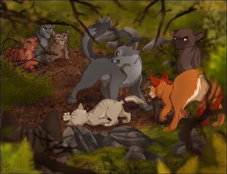 Lorsqu'elle et sa patrouille trouvent Petit Sureau coincé dans un collet à renard, fait-elle un geste pour le sauver ?