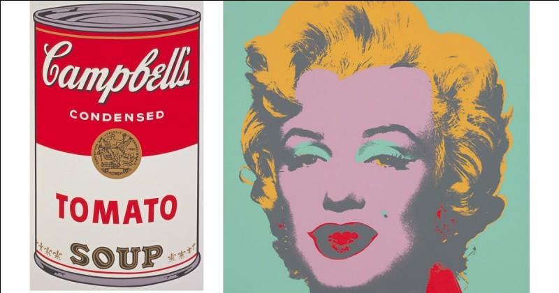/Art/ De quel mouvement artistique Andy Warhol est-il l'un des précurseurs ?