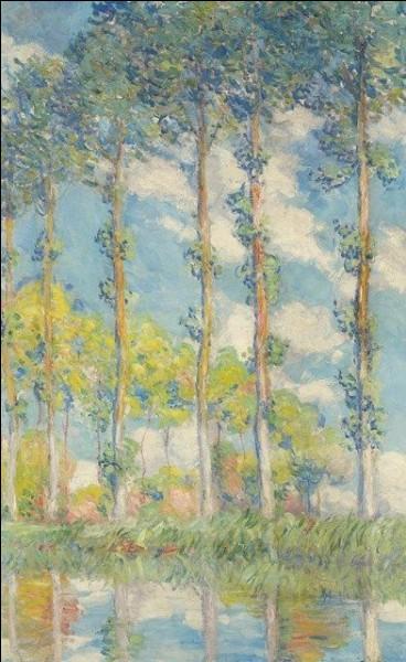 Il a également beaucoup peint ces arbres :