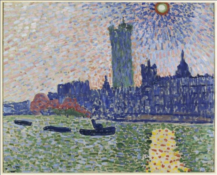 """Il a séjourné à Londres, est-ce lui qui a peint """"Le parlement de Londres"""" ?"""