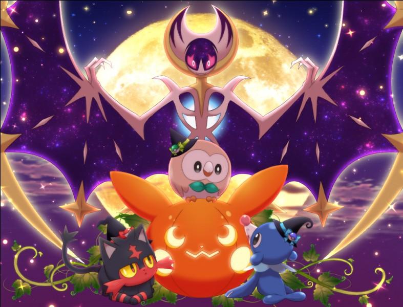 On termine avec quatre Pokémon de la génération ...
