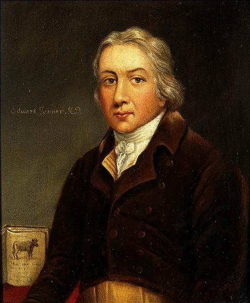 Quel vaccin Edward Jenner a-t-il mis au point en 1796 ?