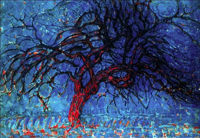 """""""Arbre Rouge"""" est un tableau peint par Kasimir Malevitch."""