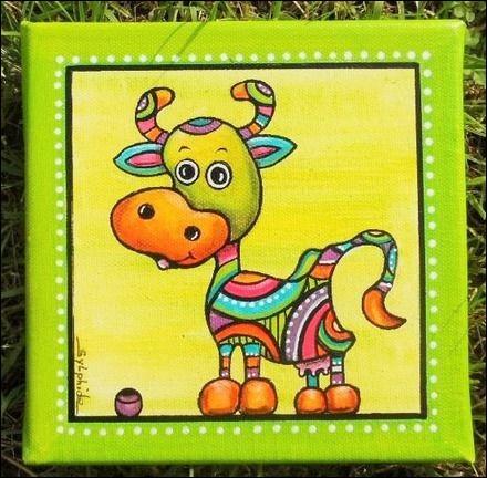 """Comment se nommait la vache, dans l'émission qui a bercé notre jeunesse """"Le Manège enchanté"""" ?"""