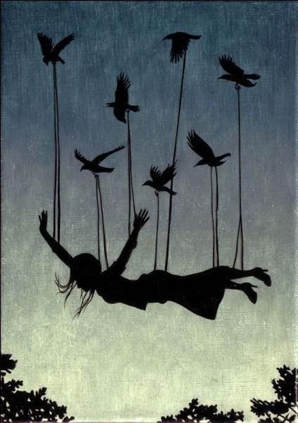 Dans le conte d'Andersen, avec quel oiseau Poucette s'envole-t-elle ?