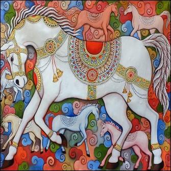 Quel était le nom du cheval d'Henri IV ?