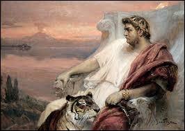 Cet homme était un empereur romain, il a tué sa mère, une de ses épouses et a causé la ruine de l'Empire romain. Comment s'appelait-il ?
