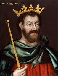 Cet homme a tenté de voler la couronne de son frère Richard Cœur de Lion, il a régné sur l'Angleterre à la mort de Richard et a ruiné le royaume. C'était...