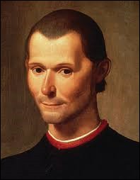 """Cet Italien était un homme politique et écrivain. Son livre le plus célèbre est """"Le Prince"""". Son nom était..."""