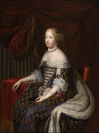 Qui est cette femme reine de France de 1660 à 1683 ?