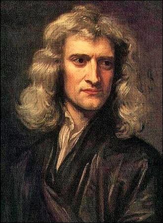 Qui est ce philosophe, mathématicien, physicien, alchimiste, astronome et théologien britannique célèbre pour sa théorie de la gravitation universelle ?