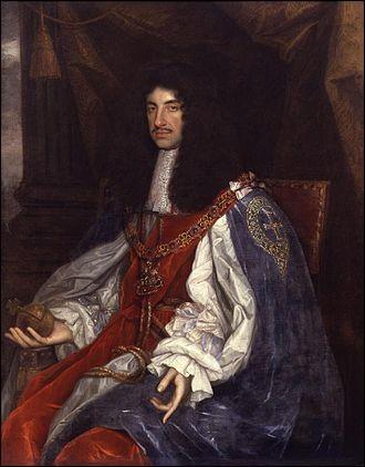 Qui est roi d'Angleterre, d'Irlande et d'Écosse de 1660 à 1685 ?