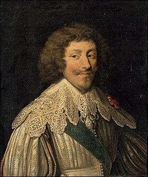 Qui est ce duc amiral condamné à mort pour crime de lèse-majesté qui lutte contre les protestants et les bat à La Rochelle en 1625?