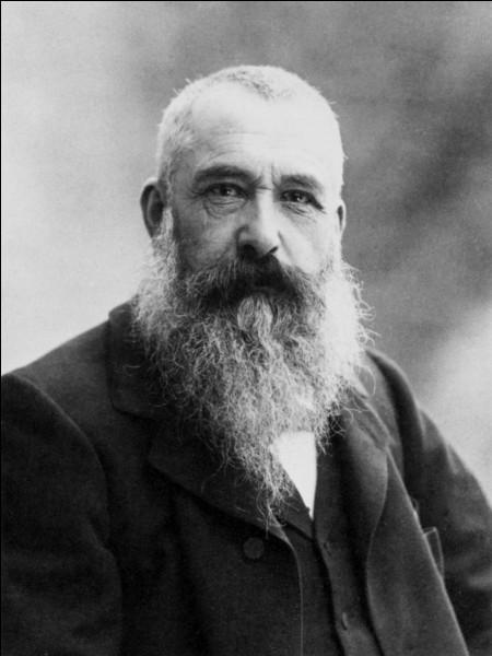 Claude Monet est né à Paris.