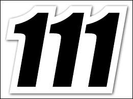 En quelle année étions-nous il y a 111 ans ? (2018)