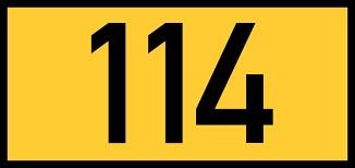 Comment écrit-on en lettres en anglais le nombre 114 ?