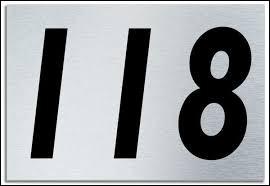 Lequel de ces nombres multiplié par 2 donne 118 ?