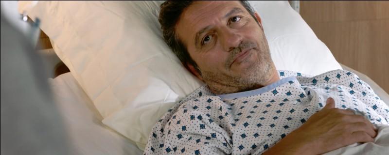 Pourquoi s'est-il retrouvé à l'hôpital ?