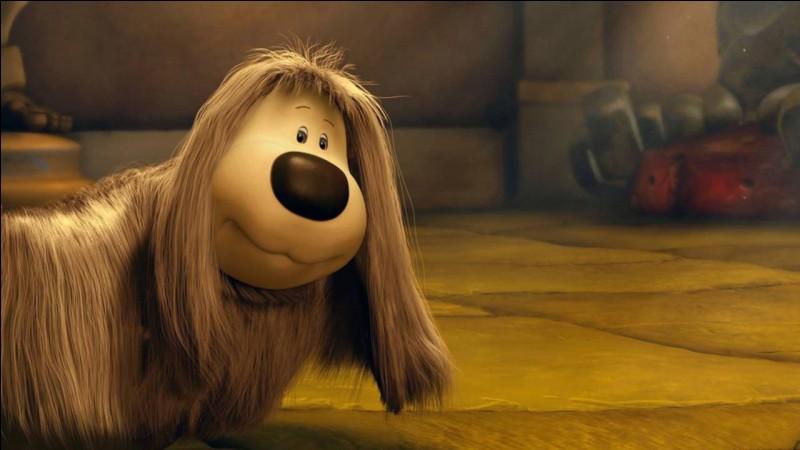 Dans quelle série d'animation rencontre-t-on le chien Pollux ?