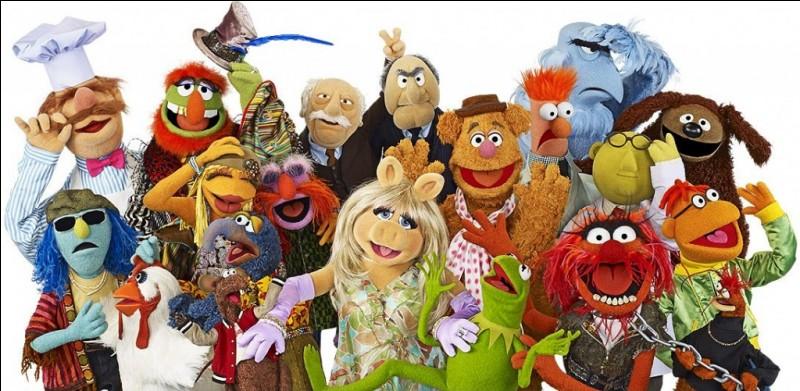 """Dans le """"Muppet Show"""", quel animal est Kermit ?"""